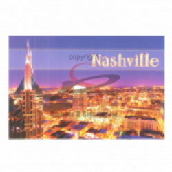Nashville Postcard Pack- Night SoBro District