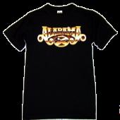 Alabama Black Logo Tee
