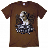 Tammy Wynette Chestnut Brown Tee