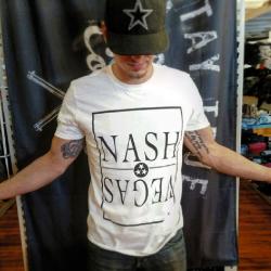 Nash Vegas White Tee