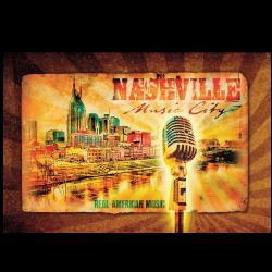 Nashville 11 x 14 Poster