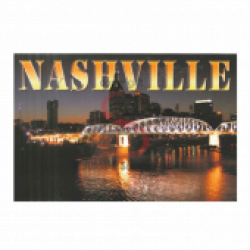 Nashville Postcard Pack- Night Pedestrian Bridge